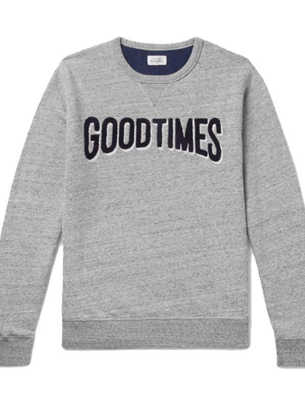 Hartford Good Time Mélange Jersey Sweater