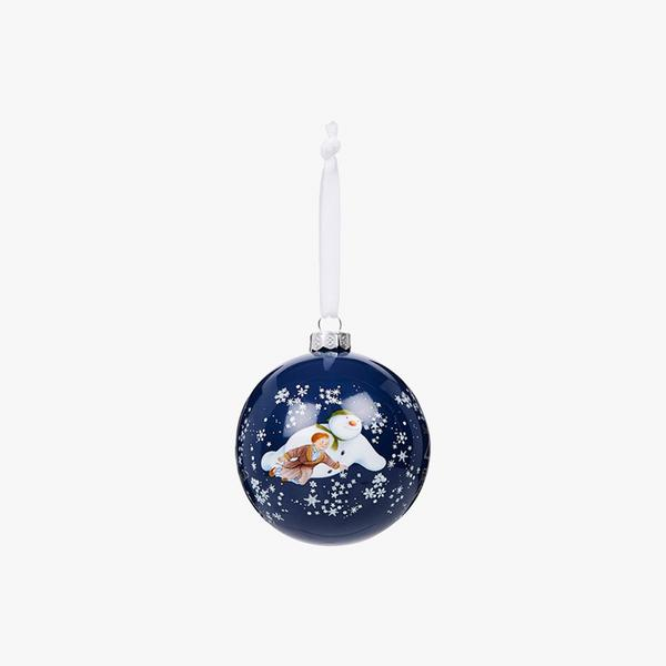 Fenwick Exclusive Snowman 40th Anniversary Bauble