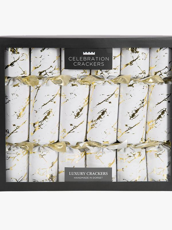Celebration Crackers Luxury in Metallic Marble