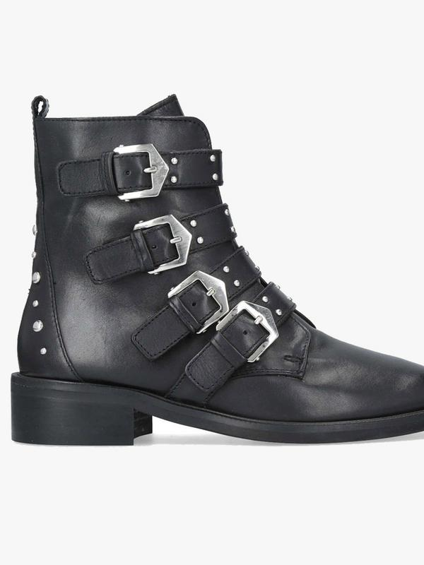 Carvela Kurt Geiger Scant Leather Biker Boots