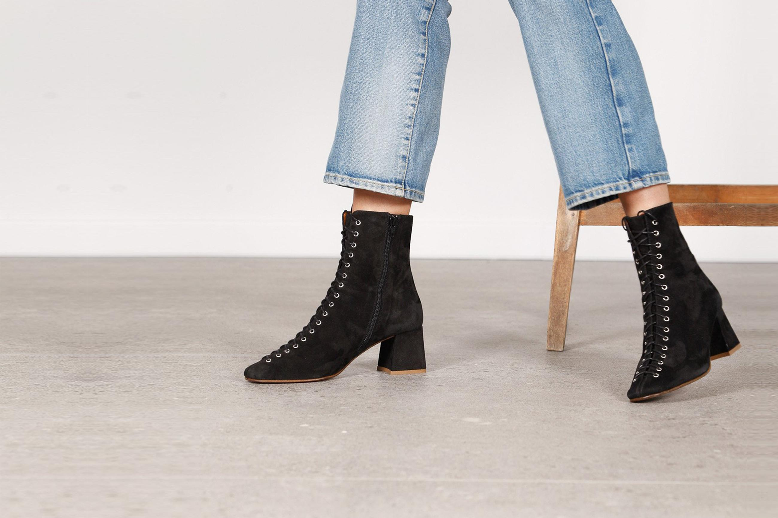 By Far Ankle Boots Campaign