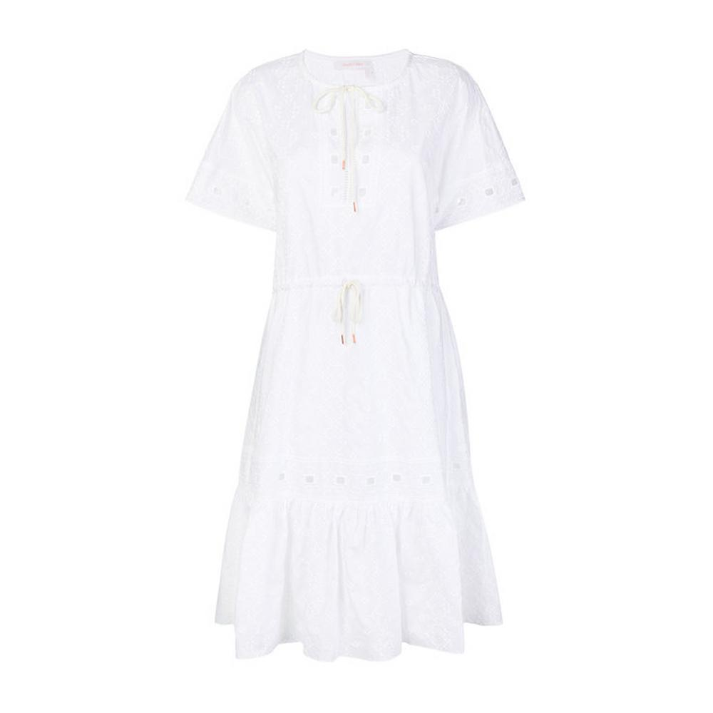 see by chloe white dress