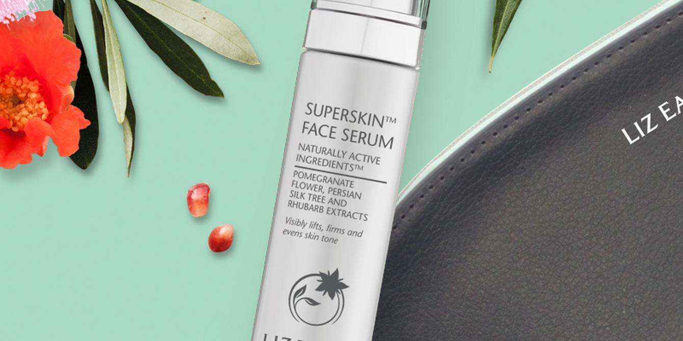 liz earle superskin face serum bottle