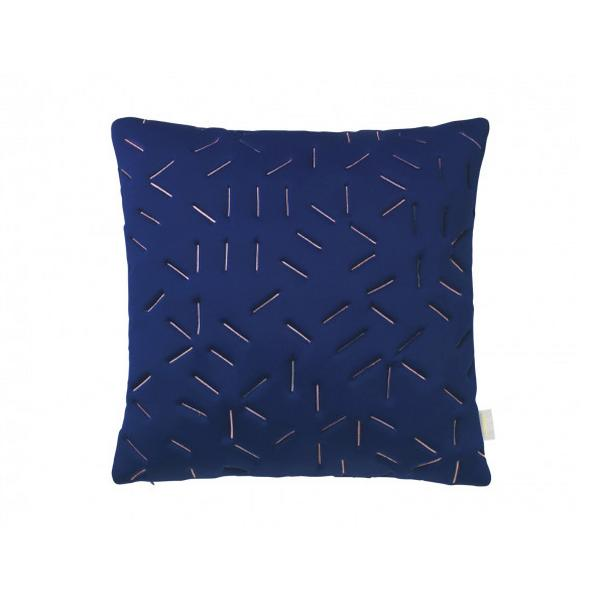 nomess splash memory pillow in blue
