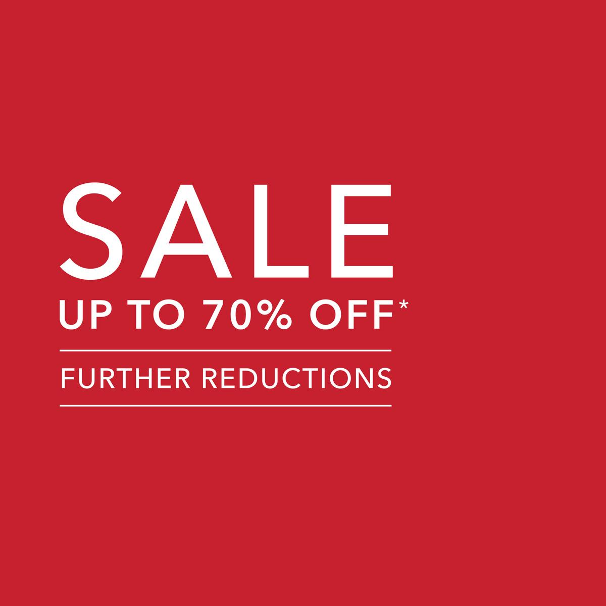 sale further reductions graphic