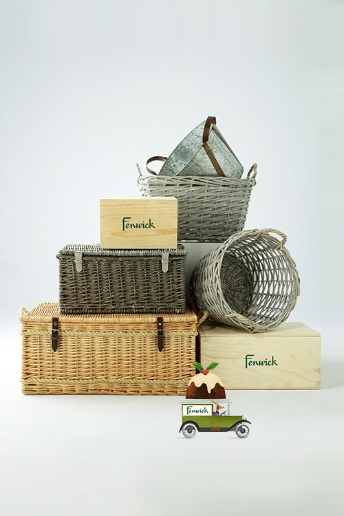 fenwick build your own christmas hamper