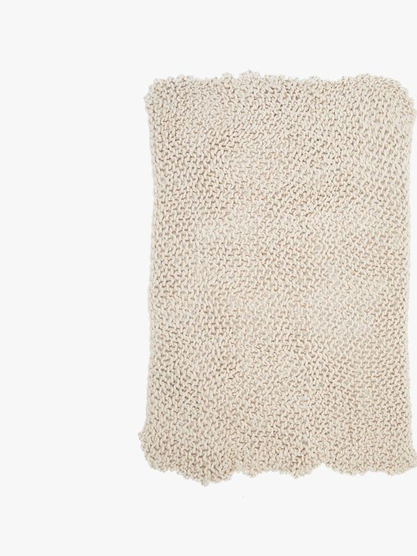 french connection home chunky knitted throw