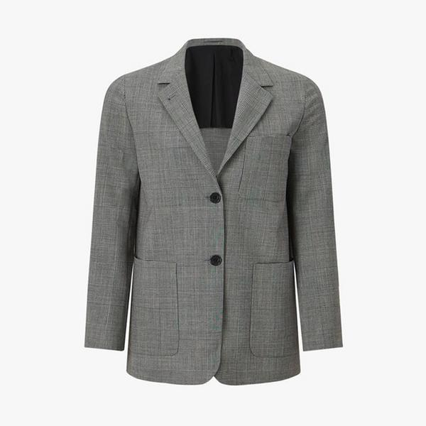 Margaret-Howell-Linen-Check-Blazer