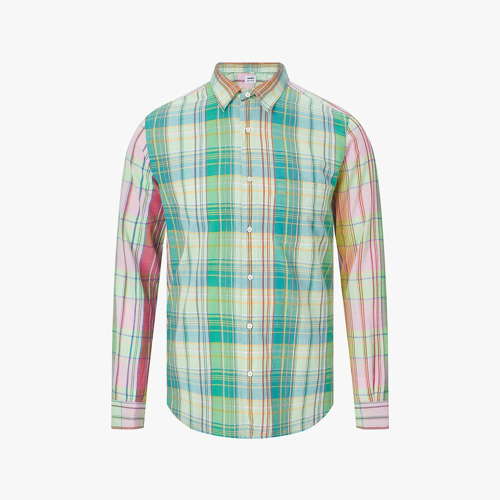aspesi ridotta checked shirt