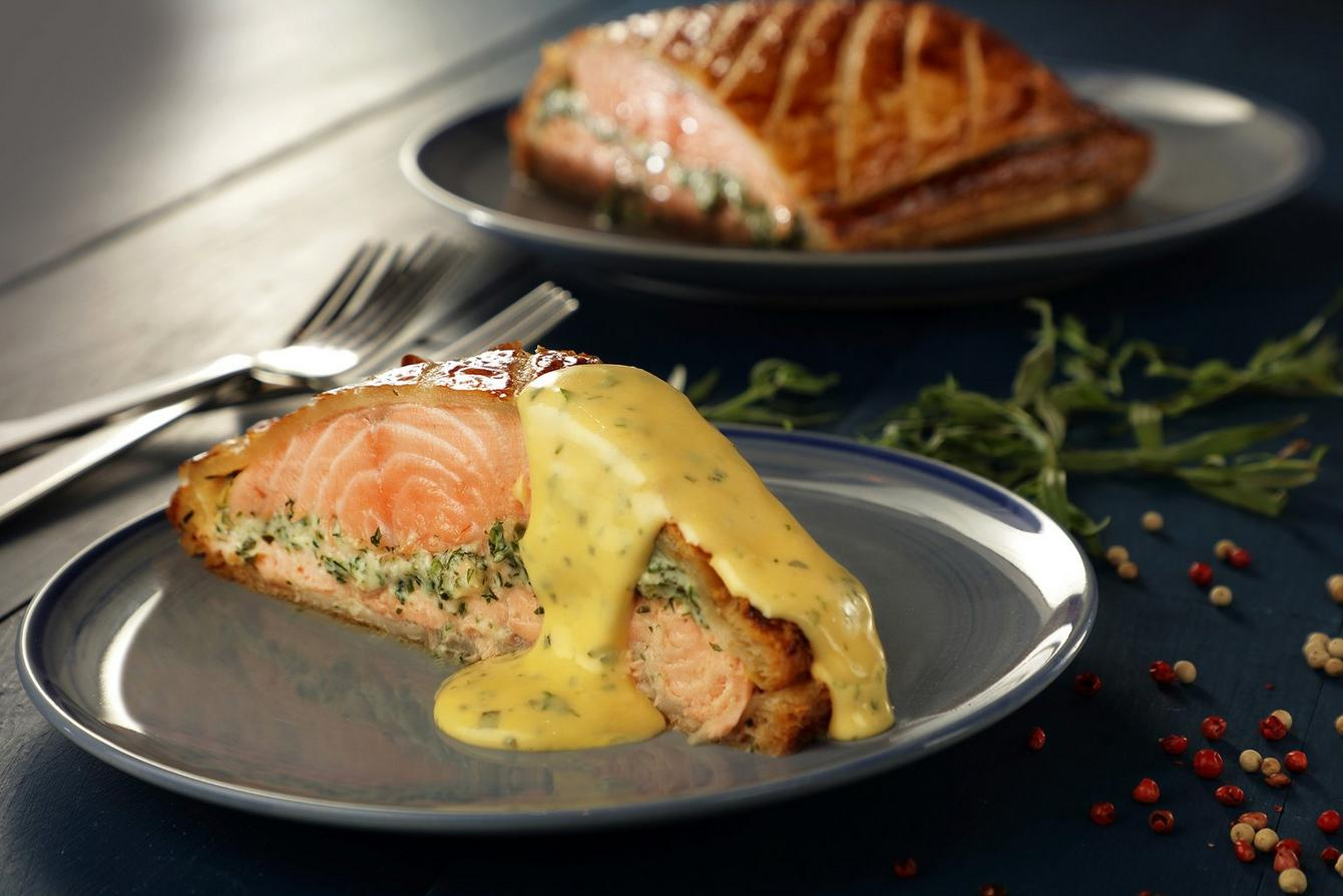 Good Friday Dinner Try Our Salmon En Croute Recipe