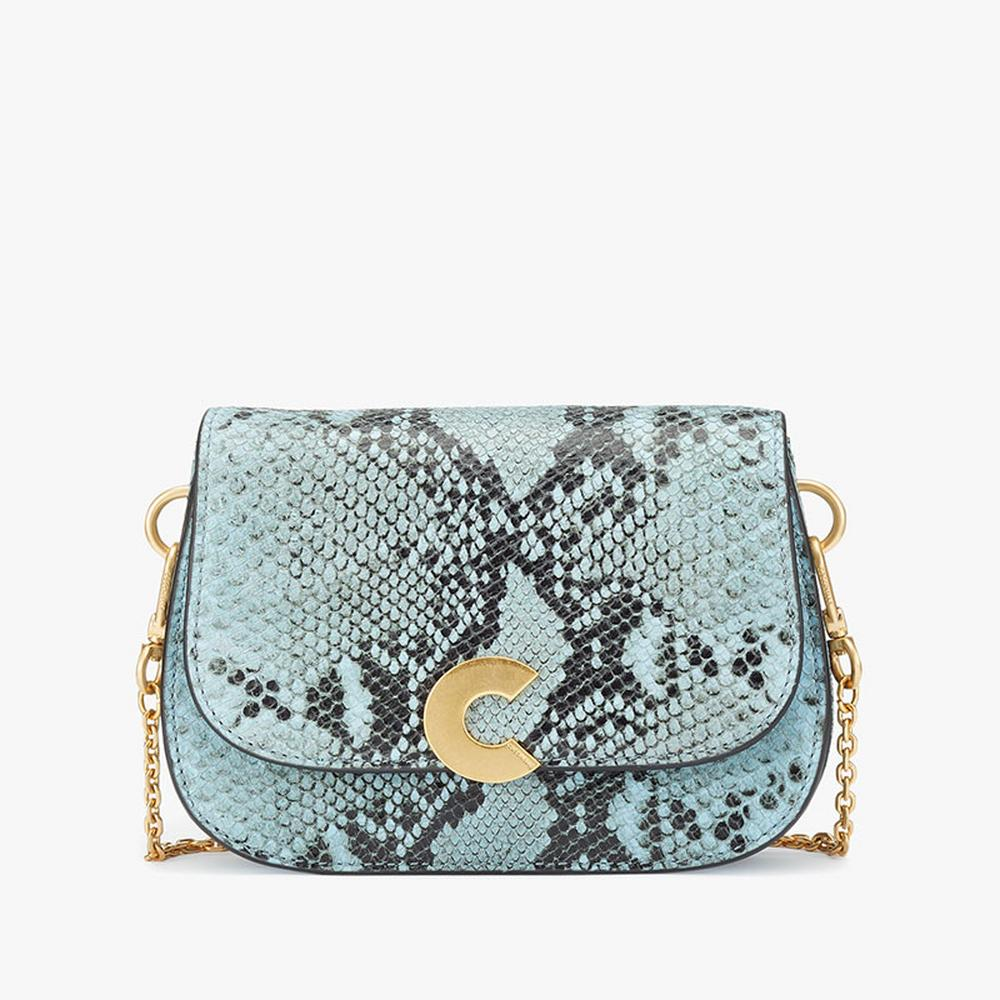COCCINELLE Craquante Print Crossbody Bag