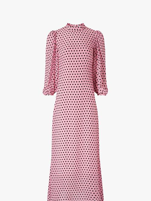 Olivia Rubin Elizabeth Polka Dot Dress