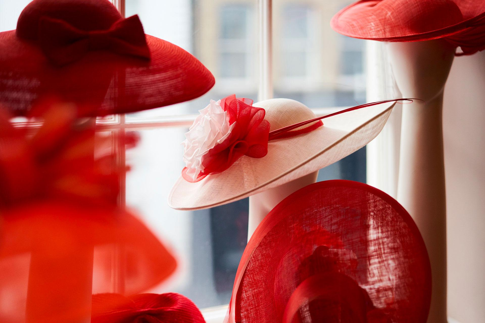 millinery department at Fenwick