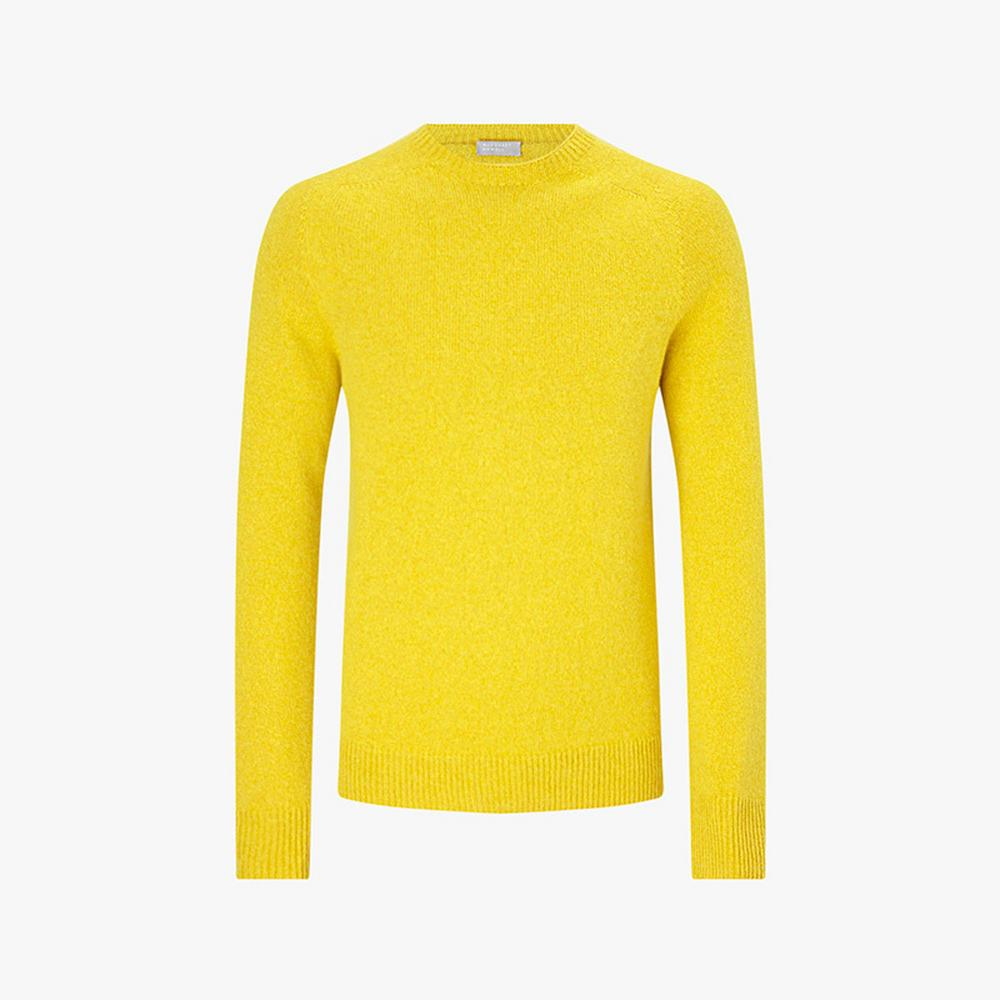 Margaret Howell Saddle Crew Cotton Cashmere Knit