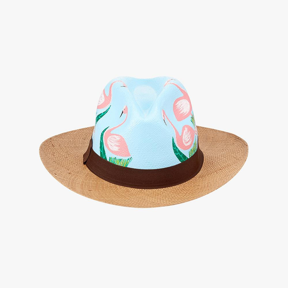 Nadia C Flamingo Hat
