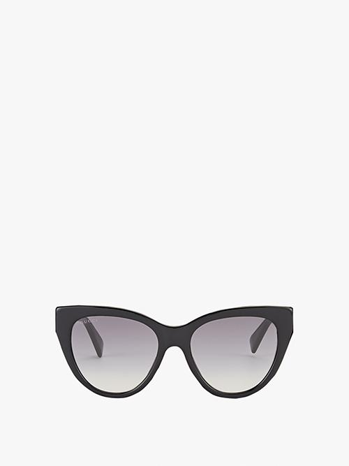 Gucci Stripe Hinge Cat-Eye Sunglasses