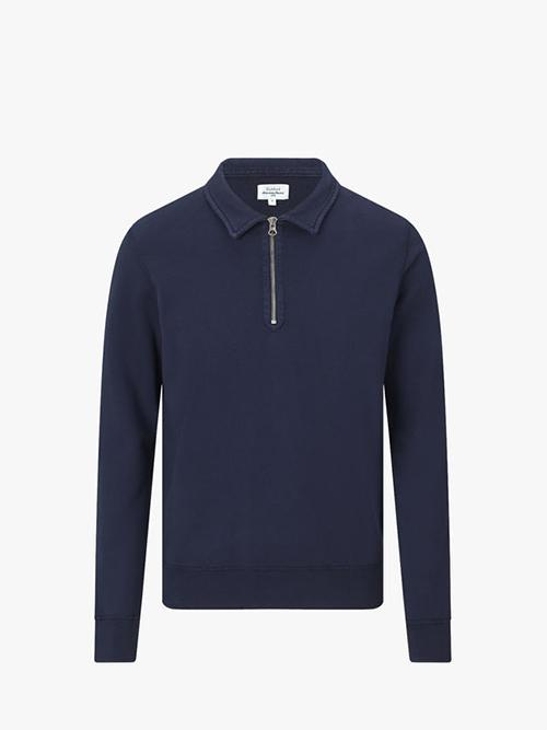 Hartford-Polo-Zipper-Sweat