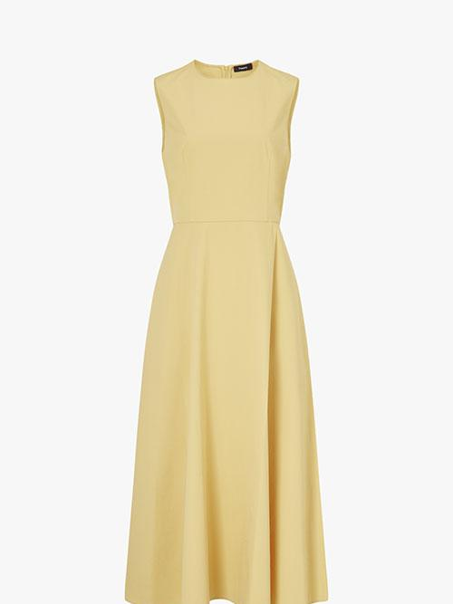 Theory Sleeveless Waisted Dress