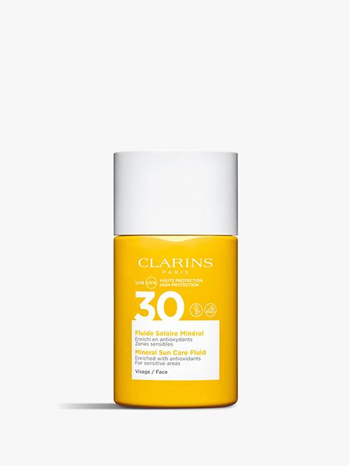 Clarins Mineral Facial Sun Care Fluid