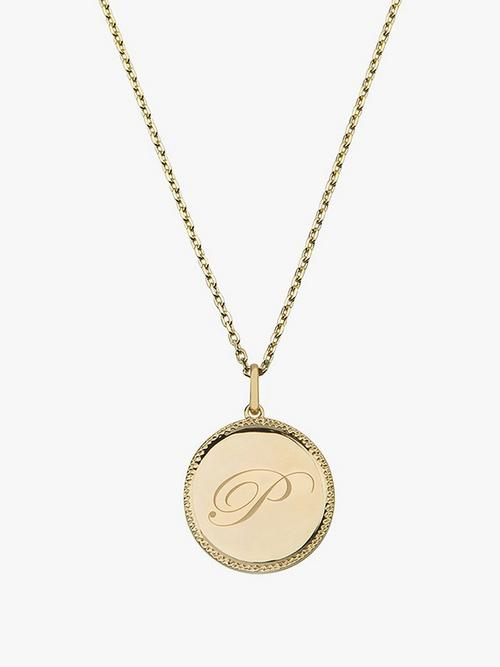 Emily Mortimer Jewellery Echo Gold Necklace