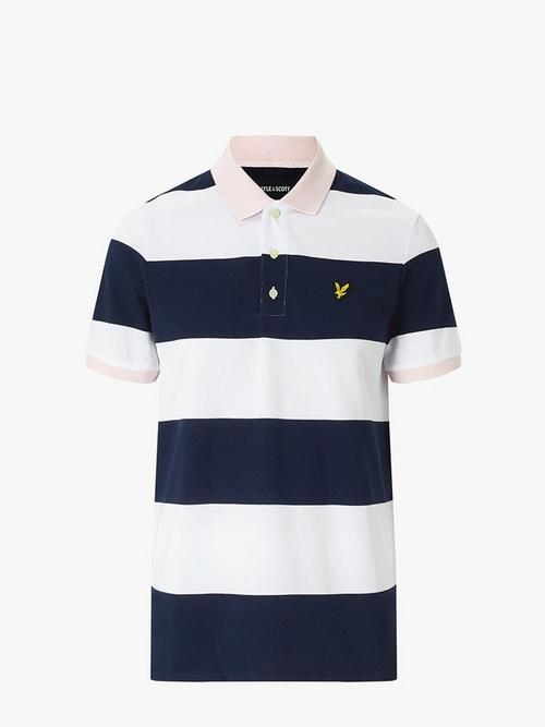 Lyle & Scott Wide Stripe Polo Shirt