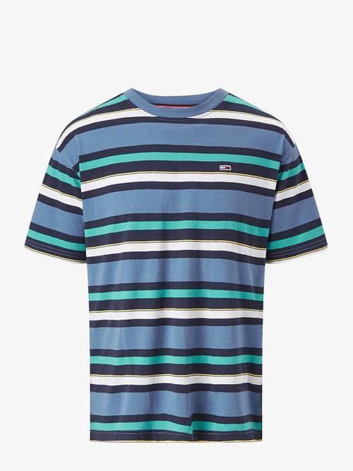 Tommy Jeans Multi Stripe Relaxed Fit T-Shirt