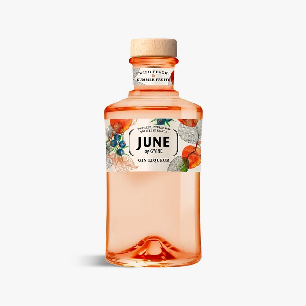 June G'Vine Wild Peach & Summer Fruits Gin Liqueur