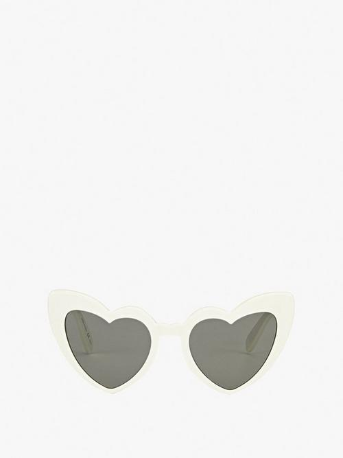 Saint Laurent Paris Heartshape Eye Sunglasses