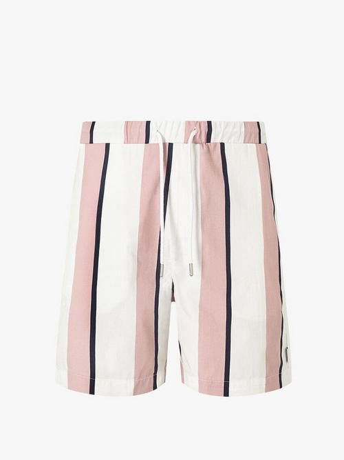 Nicce Stripe Shorts