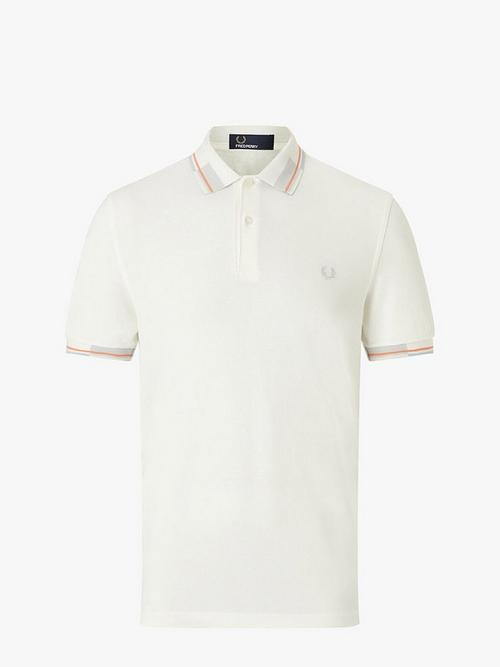 Fred Perry Abstract Collar Pique Polo