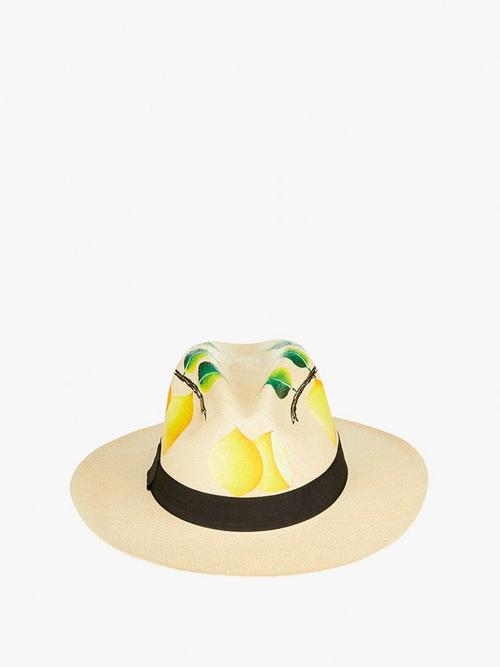 Nadia C Lemon and Leaf Hat