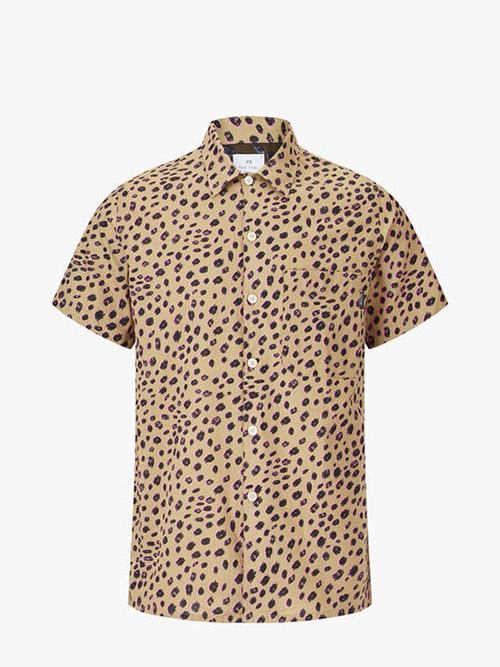 PS Paul Smith Cheetah Print Shirt