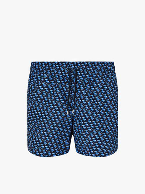 Derek Rose Maui Tropical Print Swim Short