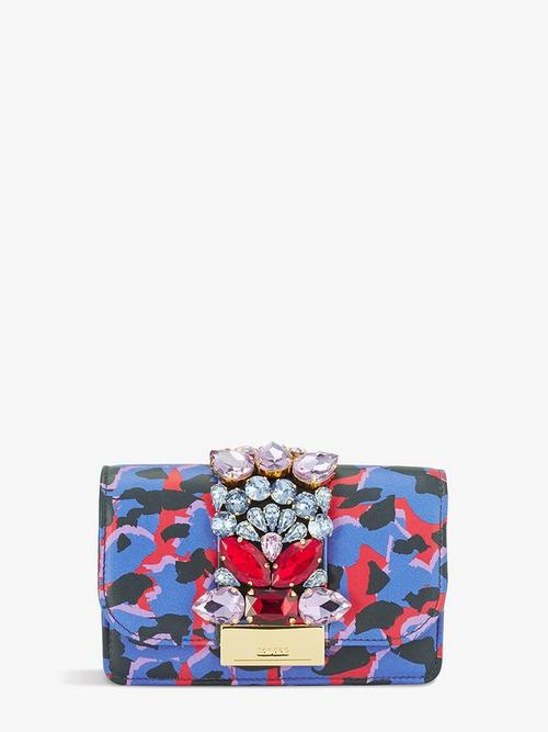 Gedebe-Mini-Cliky-Calf-Printed-Clutch