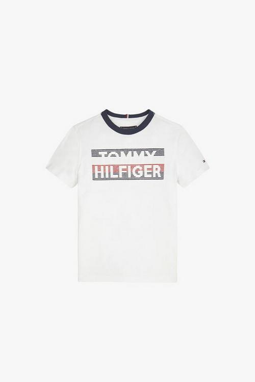 Tommy Hilfiger Logo Embroidered Tee