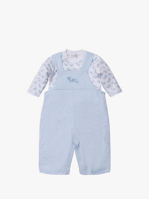 Kissy Kissy Baby Trunks Overall Set