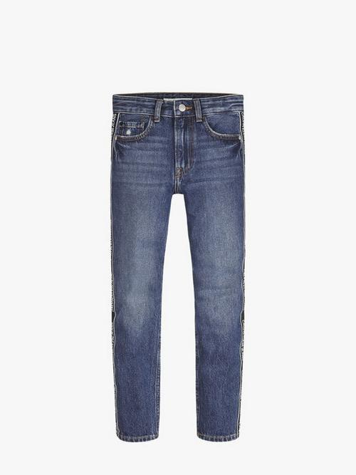 Calvin Klein Jeans Tapered Logo Jeans