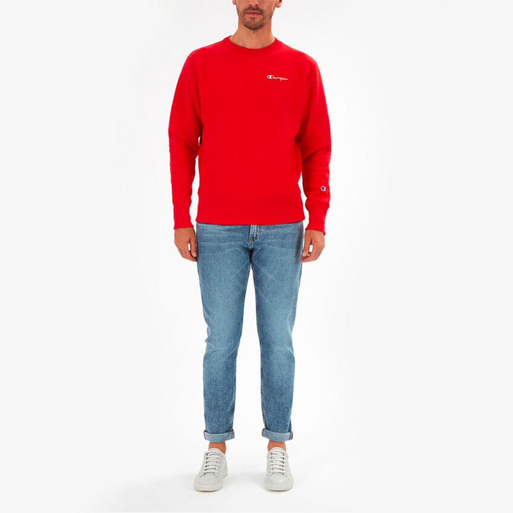 Champion Small Script Crewneck Sweat