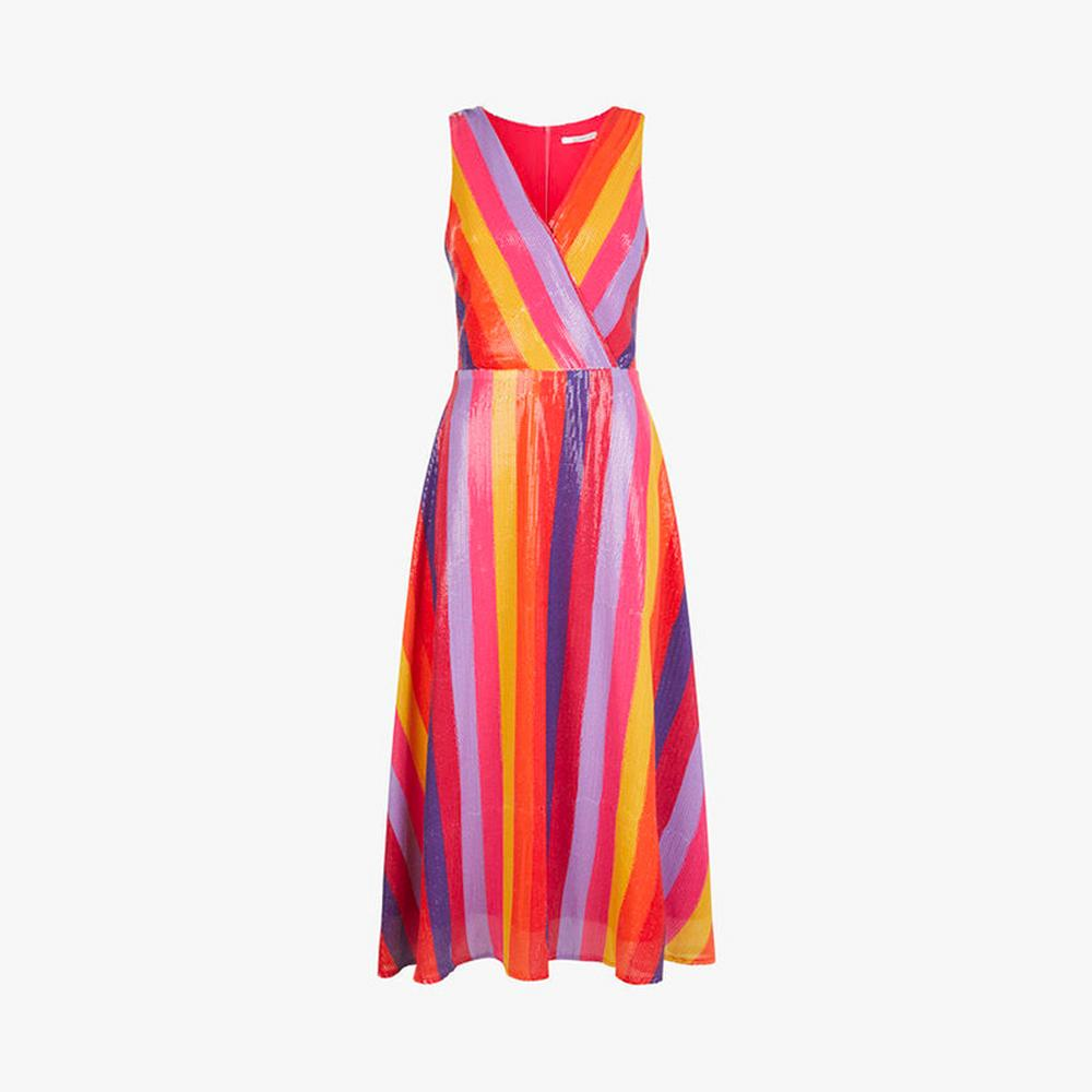 Olivia Rubin Thea Stripe Dress