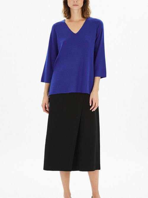 Eileen-Fisher-V-Neck-Top