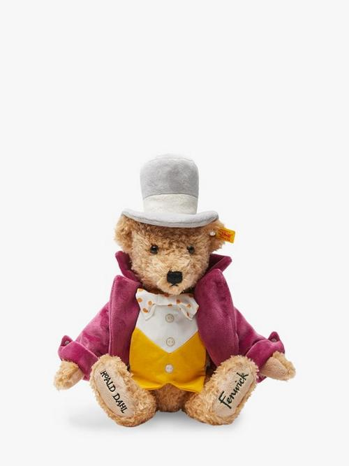 Exclusive Willy Wonka Bear by Steiff