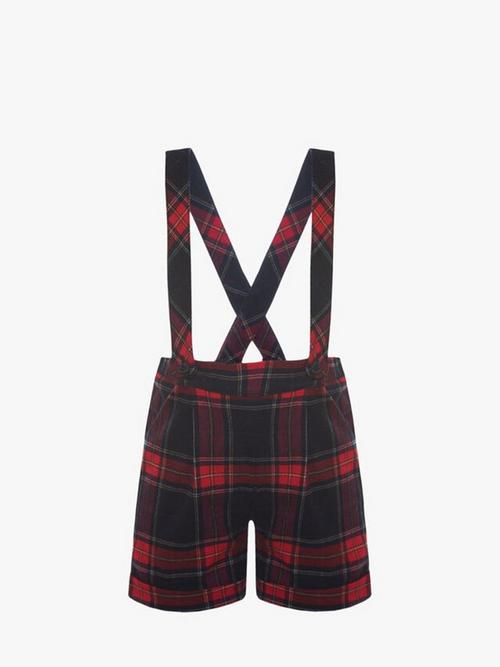 Patachou Shorts with Suspenders
