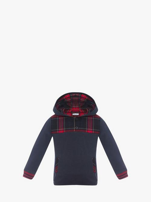 Patachou Tartan Sweater