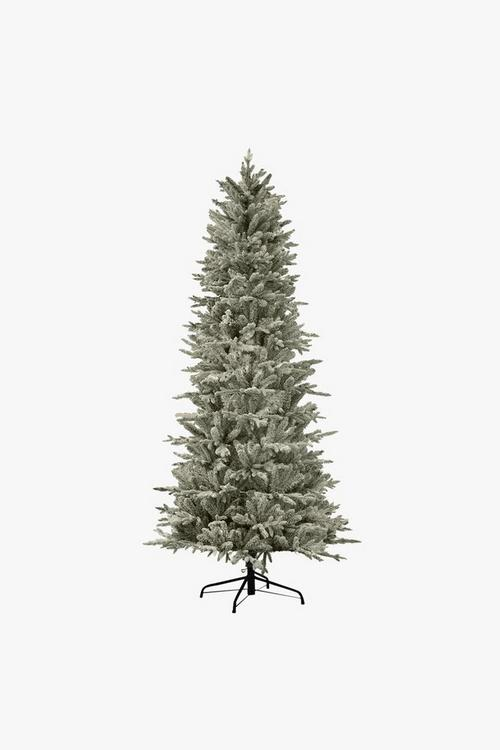 Festive Slim Northern Flocked Fir Tree