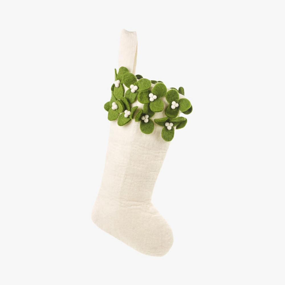 Felt So Good Mistletoe Stocking