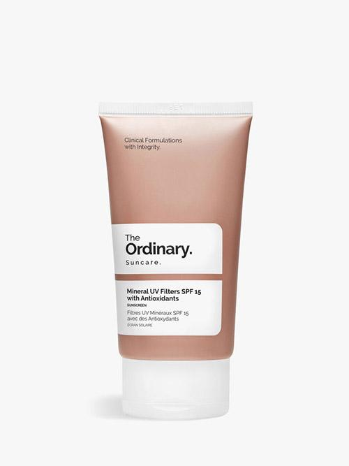 The Ordinary Mineral UV Filters SPF15 Antioxidants