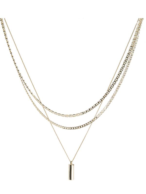 Tutti & Co Kiel Necklace in Gold