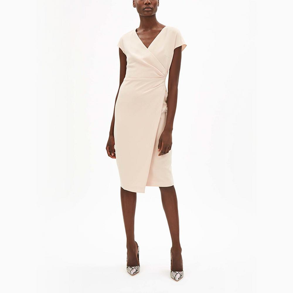 Max-Mara-Studio-Parola-Cross-Over-Dress
