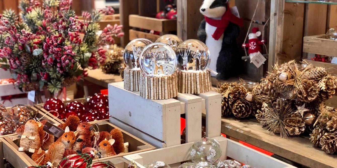 Christmas department now open at fenwick