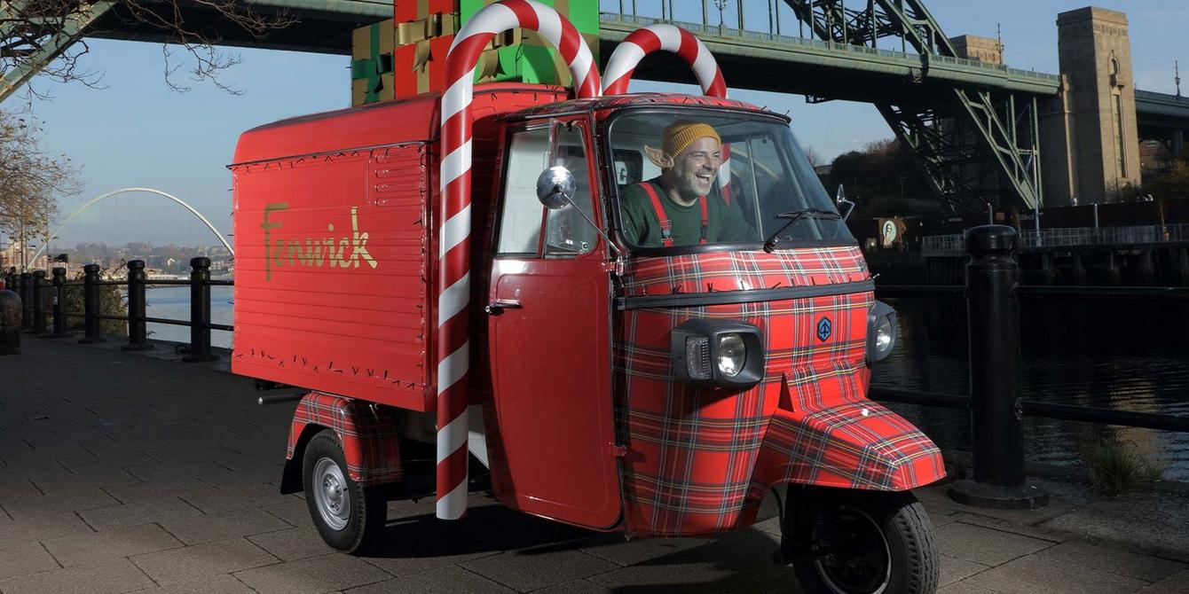 fenwick newcastle elfmobile